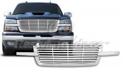 Restyling Ideas - Chevrolet Silverado Restyling Ideas Grille - 72-PC-SIL03BL