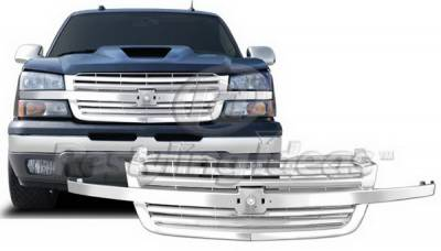 Restyling Ideas - Chevrolet Silverado Restyling Ideas Performance Grille - 72-PC-SIL03BLE