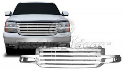 Restyling Ideas - GMC Sierra Restyling Ideas Grille - 72-PG-SIE03BL
