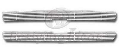 Restyling Ideas - Chevrolet Silverado Restyling Ideas Upper Grille -Stainless Steel Chrome Plated Billet - 72-SB-CHSIL99-T