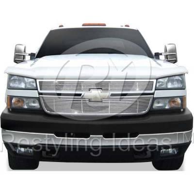 Restyling Ideas - Chevrolet Silverado Restyling Ideas Billet Grille - 72-SB-CHSILHD05-T-NC