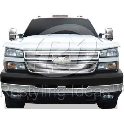 Restyling Ideas - Chevrolet Silverado Restyling Ideas Billet Grille - 72-SB-CHSILHD05-T-NC