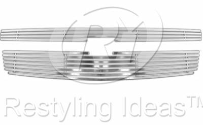 Restyling Ideas - Chevrolet Suburban Restyling Ideas Billet Grille - 72-SB-CHTAH07-TB
