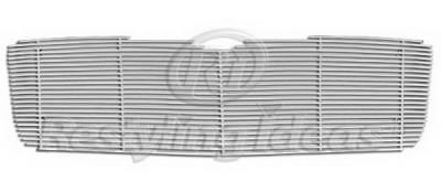 Restyling Ideas - Chrysler Aspen Restyling Ideas Upper Grille -Stainless Steel Chrome Plated Billet - 72-SB-CRASP06-T