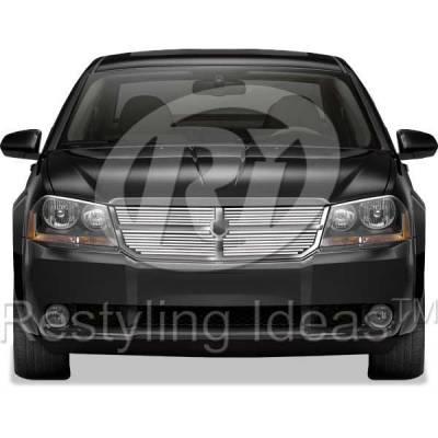 Restyling Ideas - Dodge Avenger Restyling Ideas Billet Grille - 72-SB-DOAVE08-T