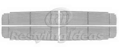 Restyling Ideas - Dodge Durango Restyling Ideas Upper Grille -Stainless Steel Billet - 72-SB-DODUR04-T-NC