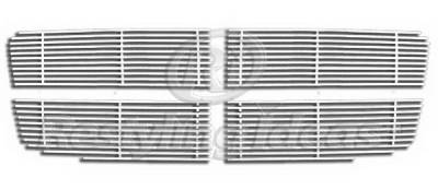 Restyling Ideas - Dodge Durango Restyling Ideas Upper Grille -Stainless Steel Chrome Plated Billet - 72-SB-DODUR07-T