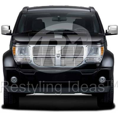 Restyling Ideas - Dodge Nitro Restyling Ideas Billet Grille - 72-SB-DONIT07-T