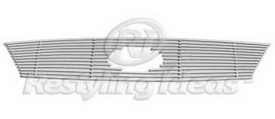 Restyling Ideas - Ford 500 Restyling Ideas Upper Grille -Stainless Steel Billet - 72-SB-FO50005-T-NC