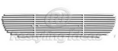 Restyling Ideas - Ford Expedition Restyling Ideas Lower Grille - Stainless Steel Chrome Plated Billet - 72-SB-FOEPD03-B