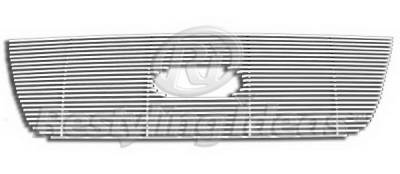 Restyling Ideas - Ford Expedition Restyling Ideas Upper Grille -Stainless Steel Chrome Plated Billet - 72-SB-FOEPD03-T