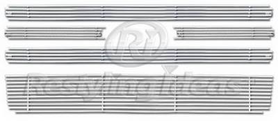 Restyling Ideas - Ford Expedition Restyling Ideas Upper & Lower Grille - Stainless Steel Chrome Plated Billet - 72-SB-FOEPD07-TB