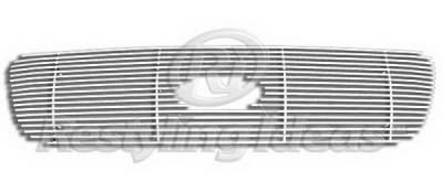 Restyling Ideas - Ford Expedition Restyling Ideas Upper Grille -Stainless Steel Chrome Plated Billet - 72-SB-FOEPD99-T
