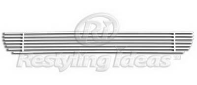 Restyling Ideas - Ford F150 Restyling Ideas Lower Grille - Stainless Steel Chrome Plated Billet - 72-SB-FOF1504-B