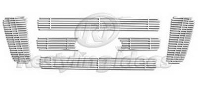 Restyling Ideas - Ford F150 Restyling Ideas Upper Grille -Stainless Steel Billet - 72-SB-FOF1504-T6-NC