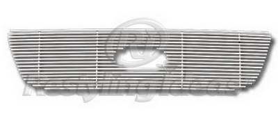 Restyling Ideas - Ford F150 Restyling Ideas Upper Grille -Stainless Steel Chrome Plated Billet - 72-SB-FOF1599-TH