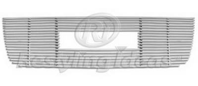 Restyling Ideas - GMC Envoy Restyling Ideas Upper Grille -Stainless Steel Billet - 72-SB-GMENV02-T-NC