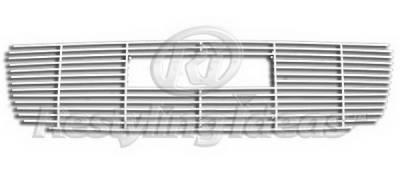 Restyling Ideas - GMC Sierra Restyling Ideas Upper Grille -Stainless Steel Chrome Plated Billet - 72-SB-GMSIE03-T