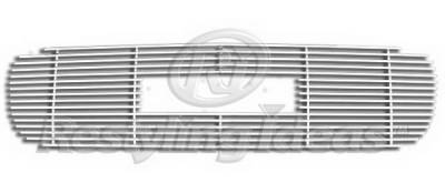 Restyling Ideas - GMC Yukon Restyling Ideas Upper Grille -Stainless Steel Chrome Plated Billet - 72-SB-GMSIE99-T