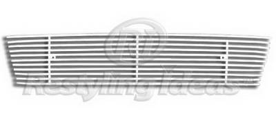 Restyling Ideas - GMC Yukon Restyling Ideas Lower Grille - Stainless Steel Chrome Plated Billet - 72-SB-GMYUK07-B