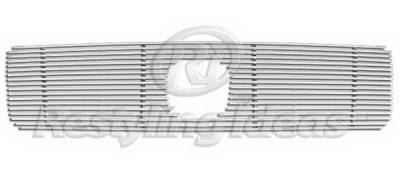 Restyling Ideas - Honda Pilot Restyling Ideas Upper Grille -Stainless Steel Chrome Plated Billet - 72-SB-HOPIL03-T