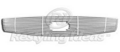 Restyling Ideas - Infiniti G35 2DR Restyling Ideas Upper Grille -Stainless Steel Chrome Plated Billet - 72-SB-ING35204-T