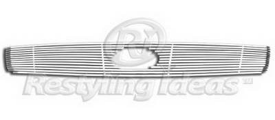 Restyling Ideas - Infiniti G35 4DR Restyling Ideas Upper Grille -Stainless Steel Chrome Plated Billet - 72-SB-ING35403-T