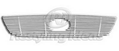 Restyling Ideas - Lexus GS Restyling Ideas Upper Grille -Stainless Steel Chrome Plated Billet - 72-SB-LEGS302-T