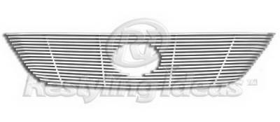 Restyling Ideas - Lexus RX Restyling Ideas Upper Grille -Stainless Steel Chrome Plated Billet - 72-SB-LERX304-T