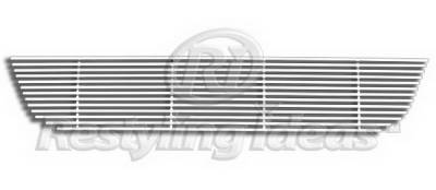 Restyling Ideas - Nissan Armada Restyling Ideas Lower Grille - Stainless Steel Chrome Plated Billet - 72-SB-NIARM08-B