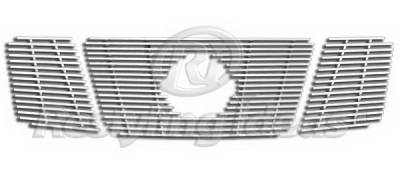 Restyling Ideas - Nissan Armada Restyling Ideas Upper Grille -Stainless Steel Chrome Plated Billet - 72-SB-NIARM08-T