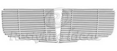 Restyling Ideas - Nissan Armada Restyling Ideas Upper Grille -Stainless Steel Billet - 72-SB-NIMAX04-T-NC