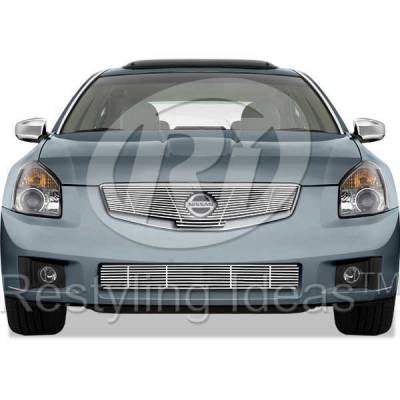 Restyling Ideas - Nissan Maxima Restyling Ideas Billet Grille - 72-SB-NIMAX07-TB