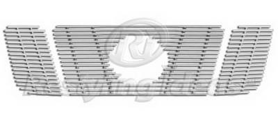 Restyling Ideas - Nissan Titan Restyling Ideas Upper Grille -Stainless Steel Chrome Plated Billet - 72-SB-NITIT08-T