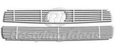 Restyling Ideas - Scion tC Restyling Ideas Upper & Lower Grille - Stainless Steel Chrome Plated Billet - 72-SB-SCTC04-TB