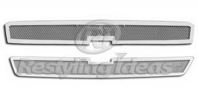 Restyling Ideas - Chevrolet Silverado Restyling Ideas Grille Insert - 72-SM703-CHSIL05HD