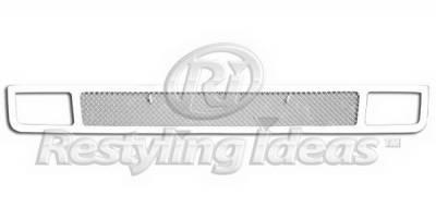 Restyling Ideas - GMC Sierra Restyling Ideas Bumper Insert Grille - 72-SM703-GMSIE07B