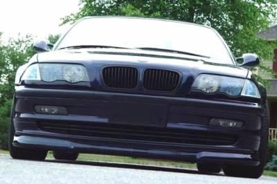 Scopione Matte Black Kidney Grille Set for BMW 99-01 4dr 3 Series E46