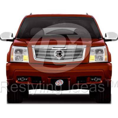 Restyling Ideas - Cadillac Escalade Restyling Ideas Knitted Mesh Grille - 72-SM-CAESC02-T