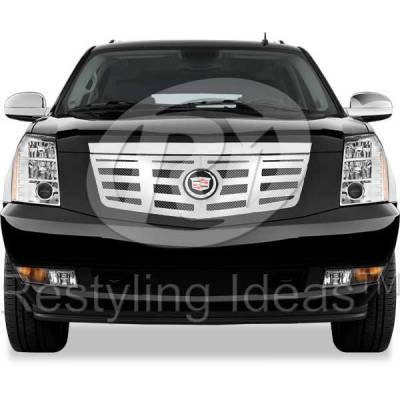 Restyling Ideas - Cadillac Escalade Restyling Ideas Knitted Mesh Grille - 72-SM-CAESC07-T