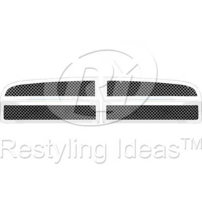 Restyling Ideas - Dodge Charger Restyling Ideas Knitted Mesh Grille - 72-SM-DOCHA06-T