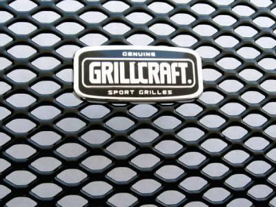 Grillcraft - BMW 3 Series 2DR Grillcraft MX Series Upper Grille - BMW-3020-B
