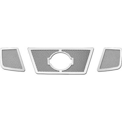 Restyling Ideas - Nissan Armada Restyling Ideas Knitted Mesh Grille - 72-SM-NIARM08-T