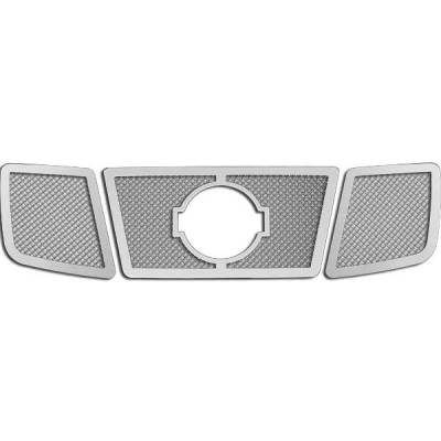 Restyling Ideas - Nissan Titan Restyling Ideas Knitted Mesh Grille - 72-SM-NITIT04-T