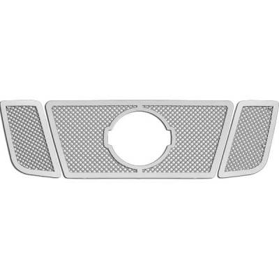 Restyling Ideas - Nissan Titan Restyling Ideas Knitted Mesh Grille - 72-SM-NITIT08-T