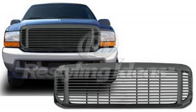Restyling Ideas - Ford Excursion Restyling Ideas Grille - 72-TPF-F2599BL