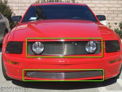 Goody - Mustang GT V8 Billet Grille Combo