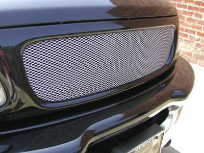Grillcraft - Ford F150 MX Series Silver Upper Grille - FOR-1300-S