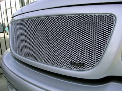 Grillcraft - Ford F150 MX Series Silver Upper Grille - FOR-1302-S