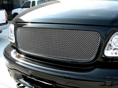 Grillcraft - Ford F150 SW Series Black Upper Grille - FOR-1302-SW